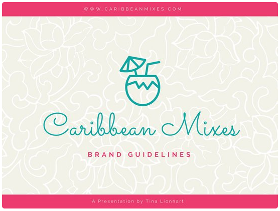 Canva Pink & Teal Presentation Template