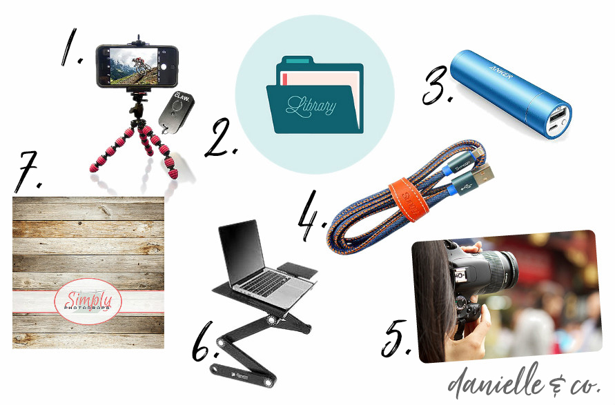 Gift ideas for creative entrepreneurs; how to add to their tool belt this holiday season! From danielle & co.