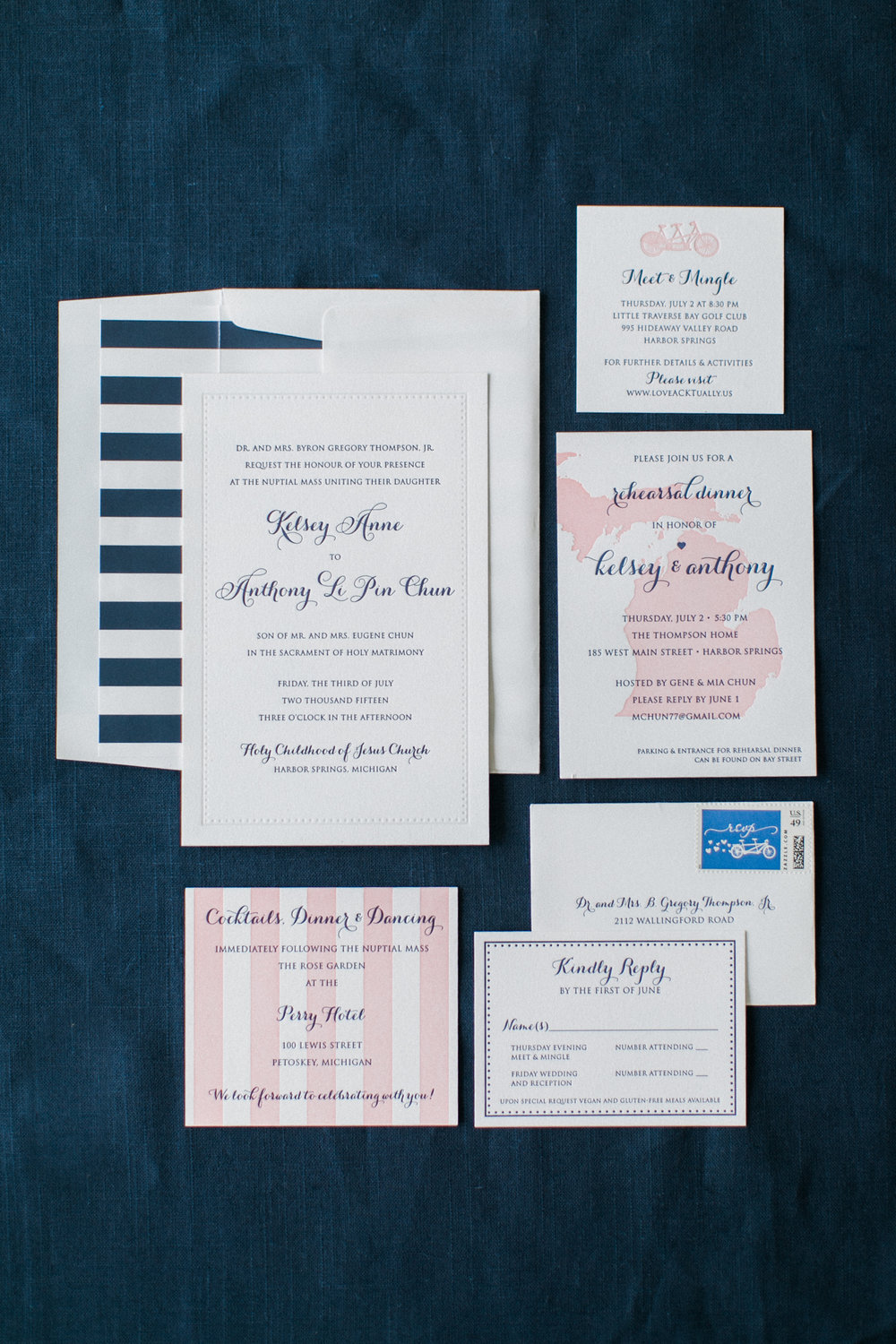 invitations by  The Write Touch