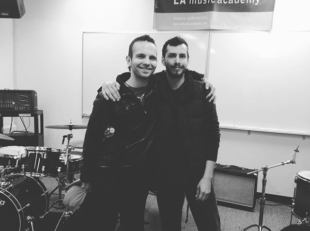 Matt was my teacher for a year at LAMA, he taught me tons of things and helped me refine my technique, he's a fuckin' technique guru (pardon my french). Yesterday I played in Toronto for the first time, Matt's hometown, made me think of you dude, miss you buddy!!