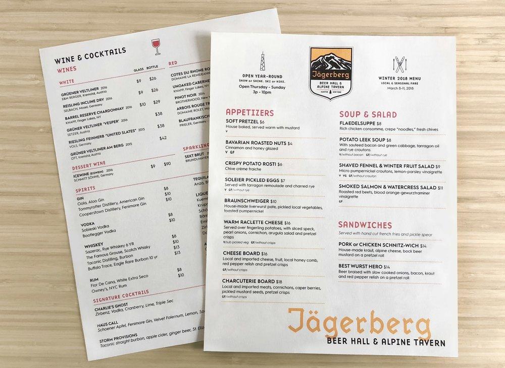 Jägerberg Beer Hall /  Production