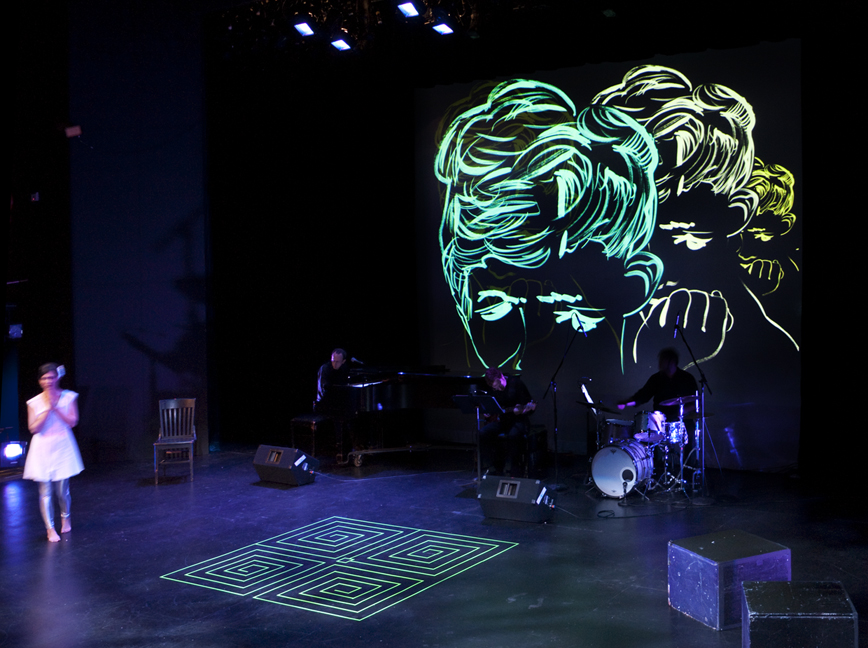 Live Performance Projections, Brooklyn Museum 2008