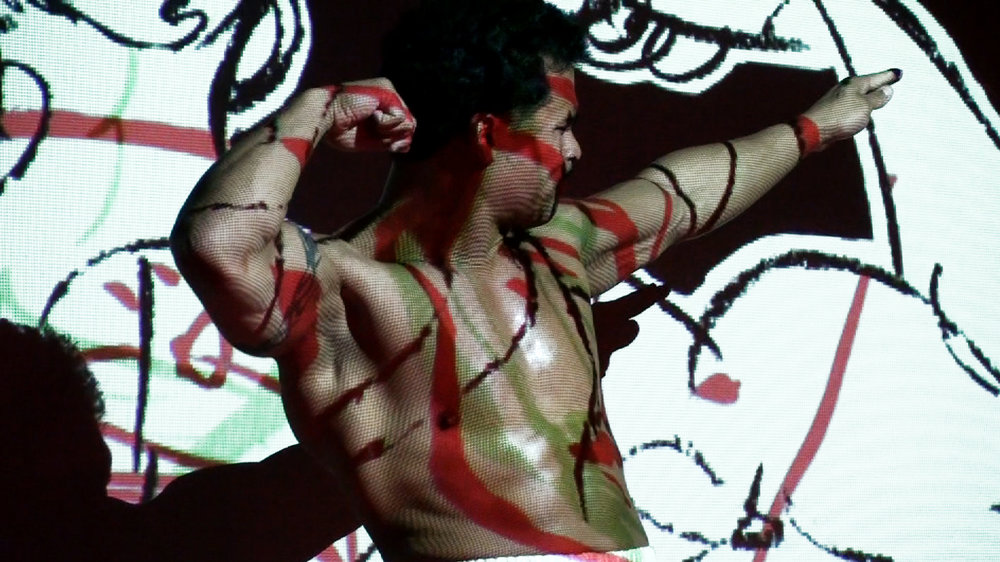 Live Performance Projections, HERE, 2011