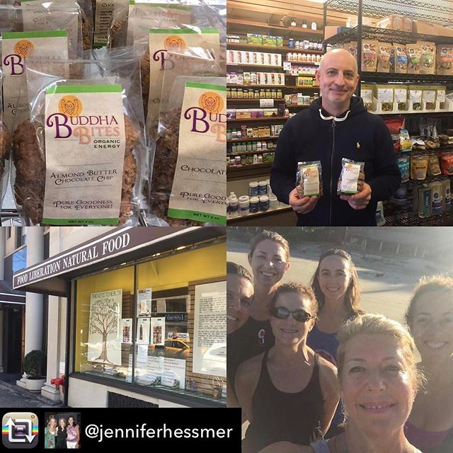 Repost from @jenniferhessmer using @RepostRegramApp - Buddha bites have made it to the UES.... made with ❤️️love❤️ in Maryland for us hungry Manhattan hearts!  Distribution brokered on the beach in Costa Rica....They have become my go to pre-run, post-yoga and breakfast treat!  Thank you Stephanie Kroskin Block for feeding our souls! 🙏🏼❤ @jenniferhessmer