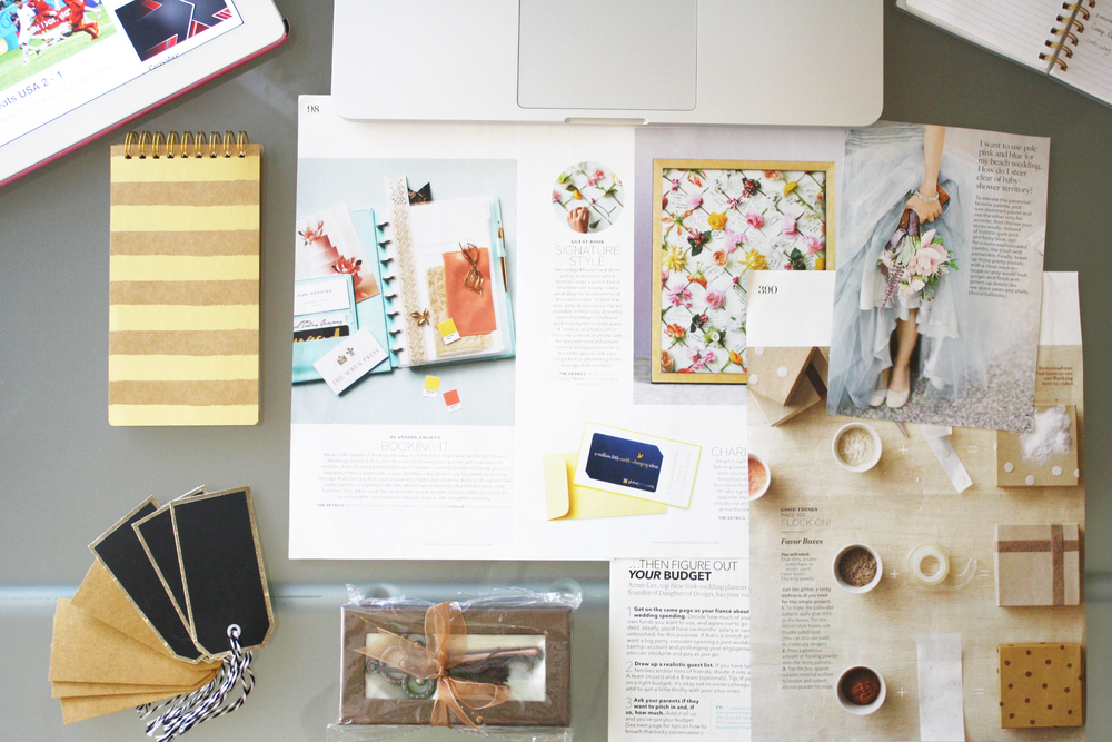 Creative workstation at Michelle Isabel