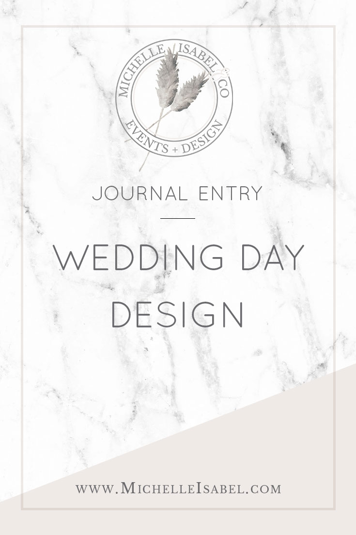 Wedding Day Design