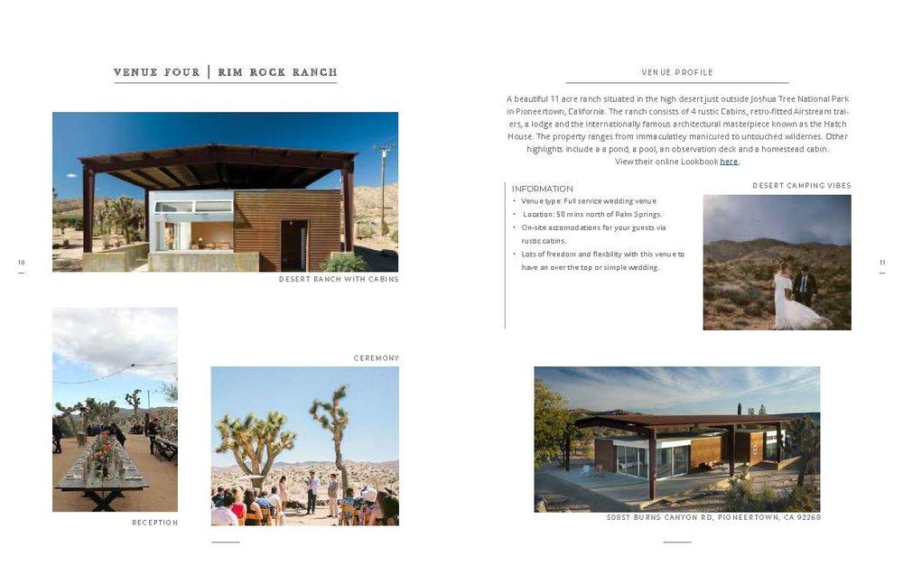 Sample Wedding Venue Information