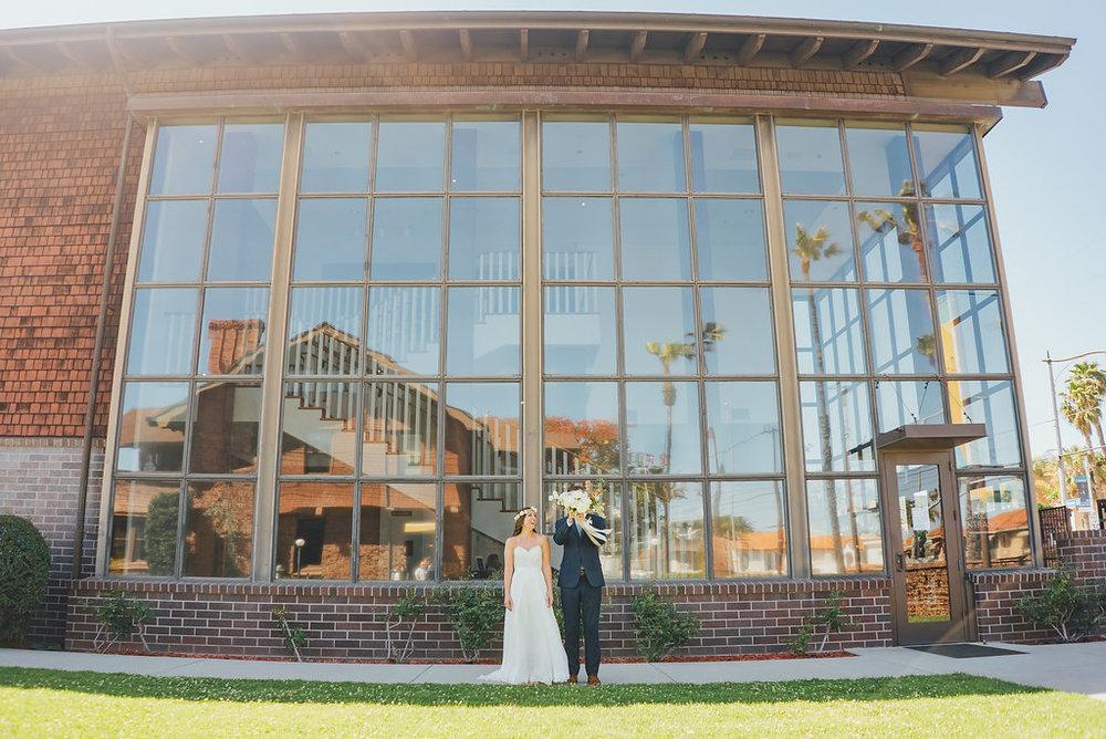 Danielle + Brendan - Long Beach museum of Art | California