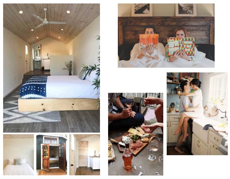 Engagement Session Moods for a Client - AirBnb