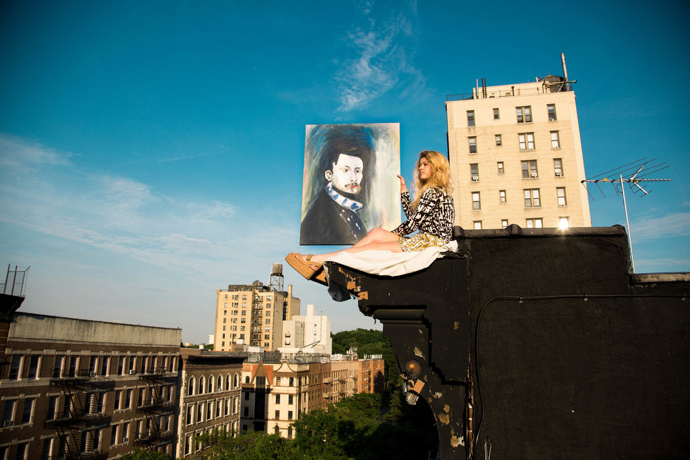 Renoir Through The Sky, 2015. Harlem, NY