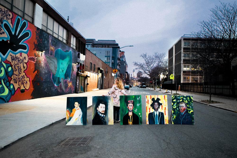 Au Studio Bayard Street, 2016. Brooklyn, NY