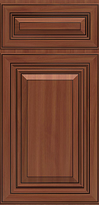 Saratoga Cinnamon Door