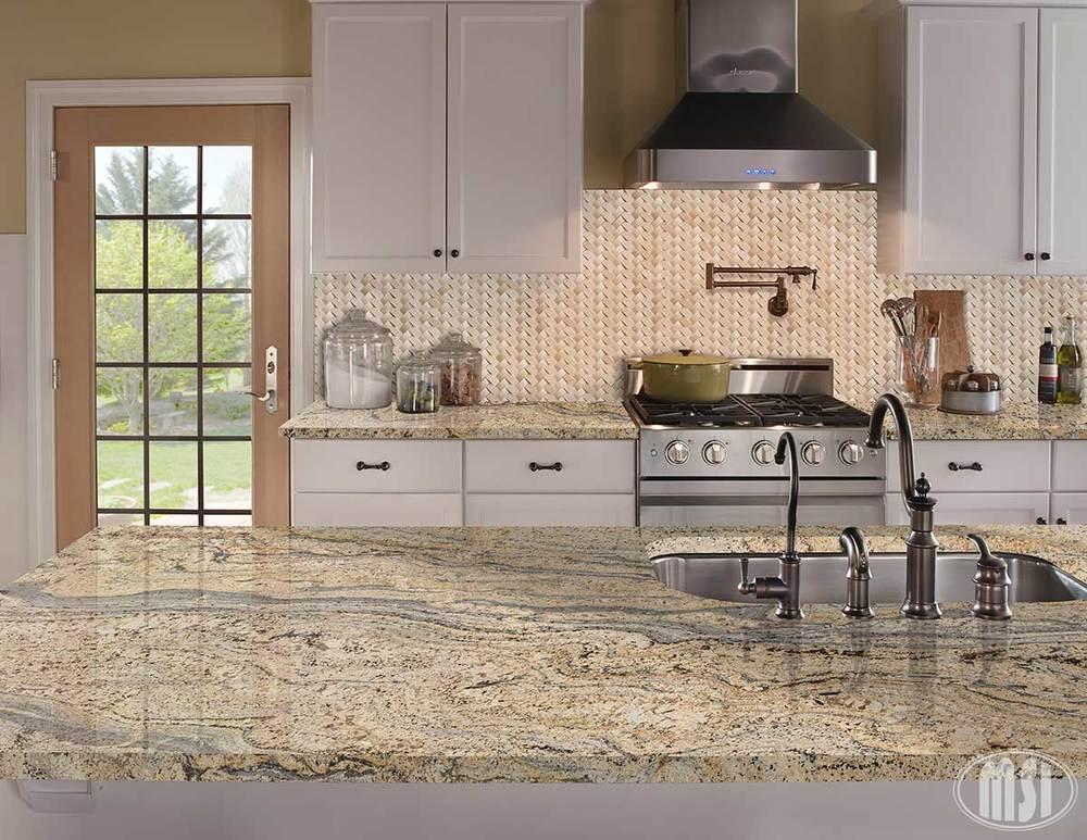 Exquisite Granite Rock Counter