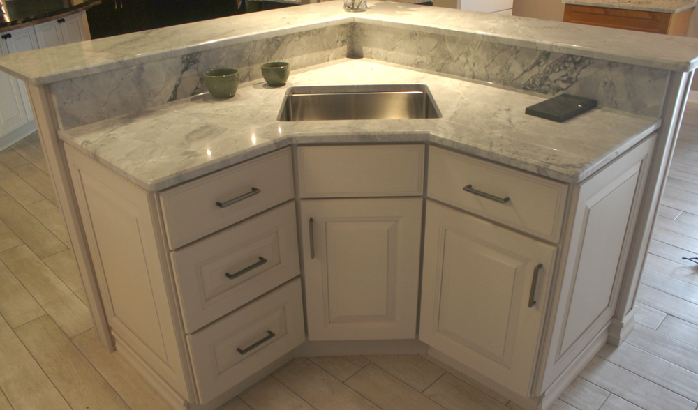 Libertyville kitchen cabinets sinks and countertops for Can you use kitchen cabinets in bathrooms