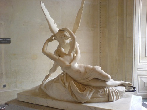 Cupid and Psyche, by Antonio Canova in 1787