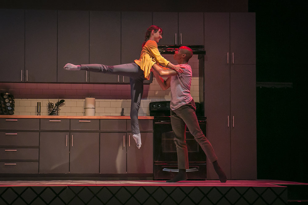 Catherine Roth & Robert Rubama in The Kind of Thing That Would Happen Photo: Sasha Fornari