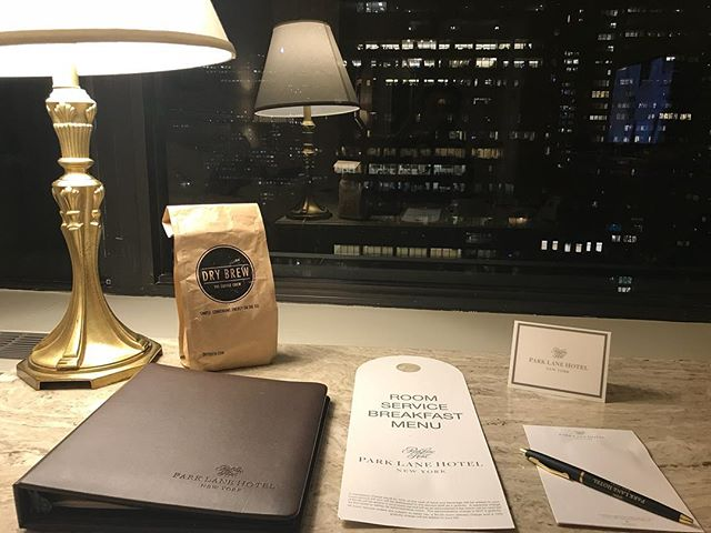 Getting ready for the week. Making sure we have all that we need. . . . . . . #drybrew #coffeechew #chewablecoffee #coffeethoughts #convenient #caffeine #coffeevibes #traveler #newyork #parkavenue