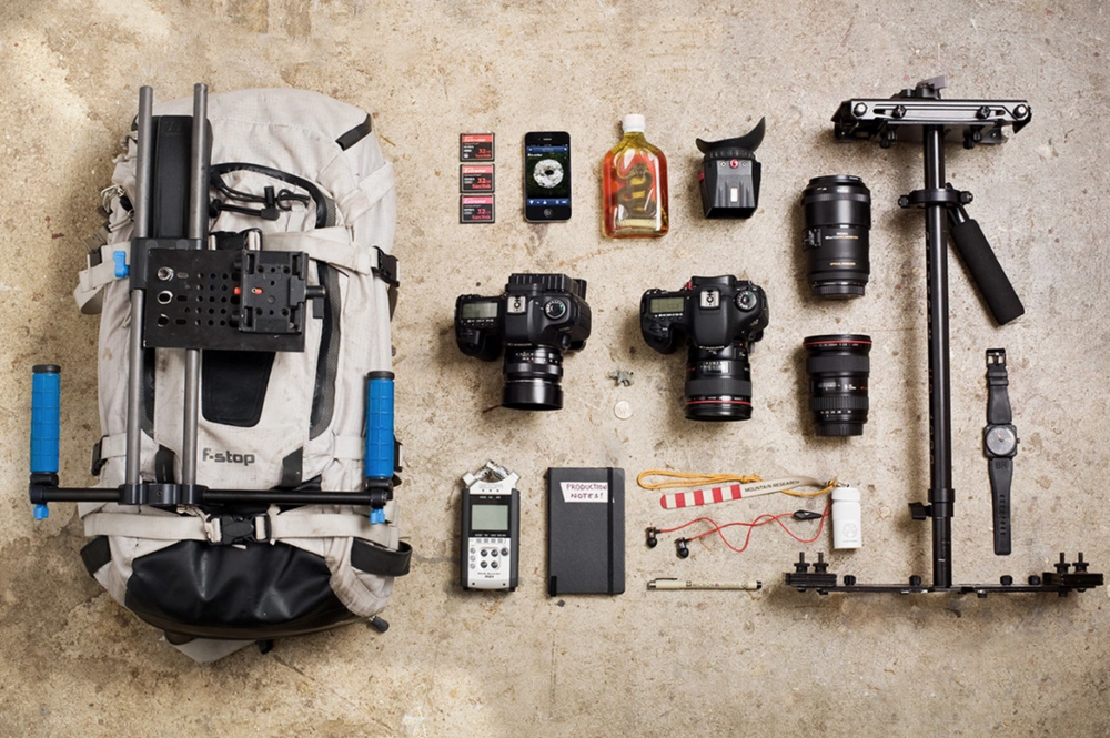 "Gear shot from my  Hypebeast ""Essentials"" feature."