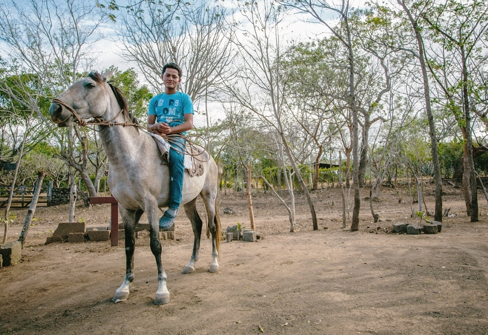 A boy and his horse, Nicaragua.