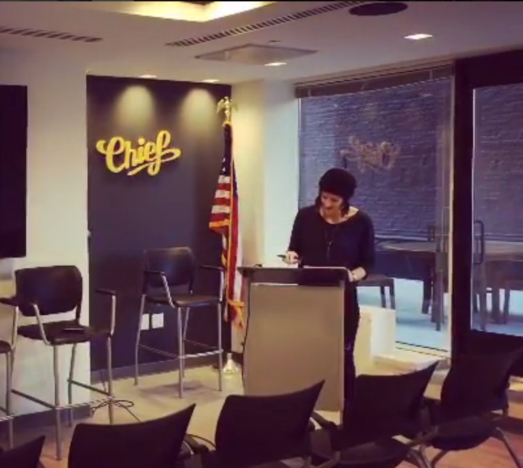 I got to take over FiftyThree's instagram account in early December. I wanted to showcase how I use the app, and posted a quick video of how I'm using Paper for presentations. I was prepping for a  talk to the DC data community  which was so fun and fabulous! A great way to wrap up my journey this year.