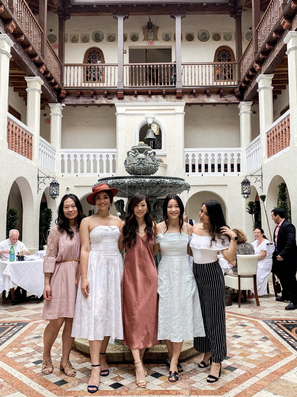 Not your everyday babes. Our little bride,  Ayaka , is in the center!