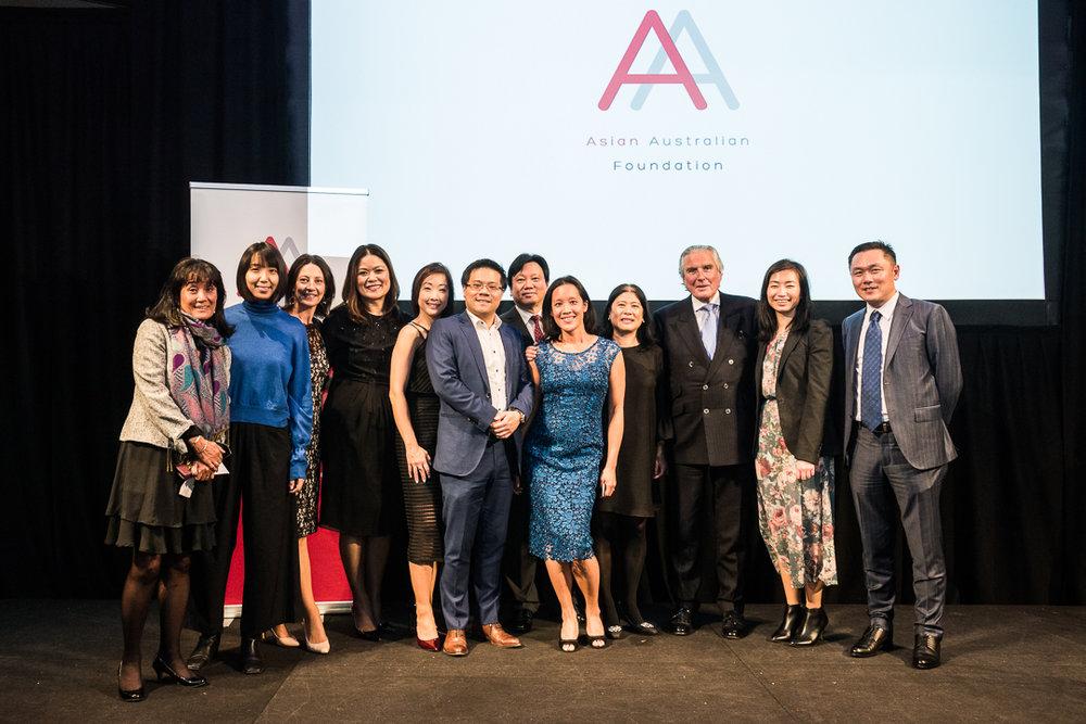 The asian australian foundation team