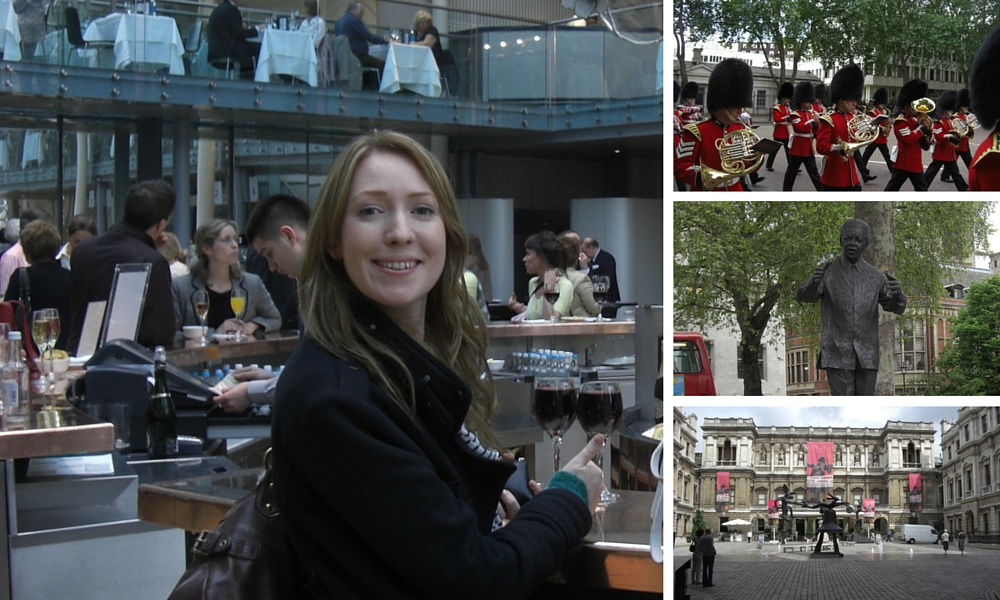 We did a lot of fun things in London besides watch Downton Abbey!