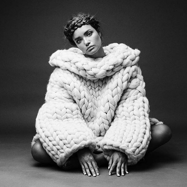 #itiloves thick knits for fall 🍂 // image via @schonmagazine