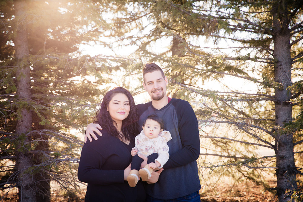 Baby Milestone, First Birthday - Calgary Photographer