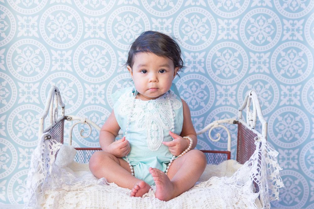 Baby Milestone, First Birthday - Calgary Photographer