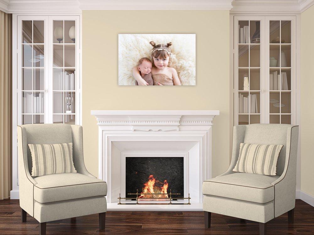 Newborn - Wall Portrait - Design