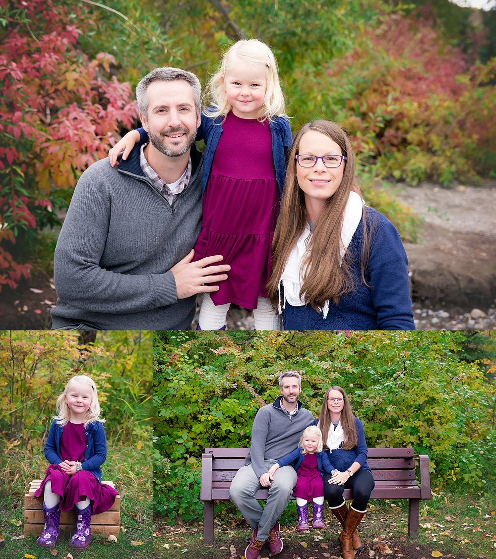 Calgary Fall Mini Session. Family Photographer. Milashka Photography. Edworthy Park