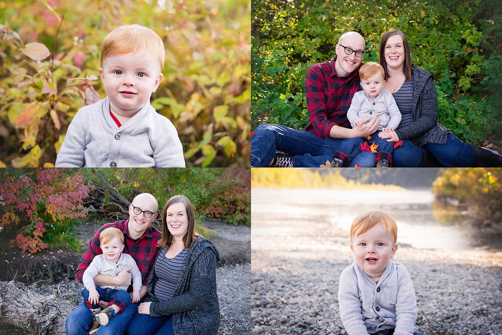 Calgary Fall Mini Session - Edworthy Park. Calgary Family Photographer. Milashka Photography