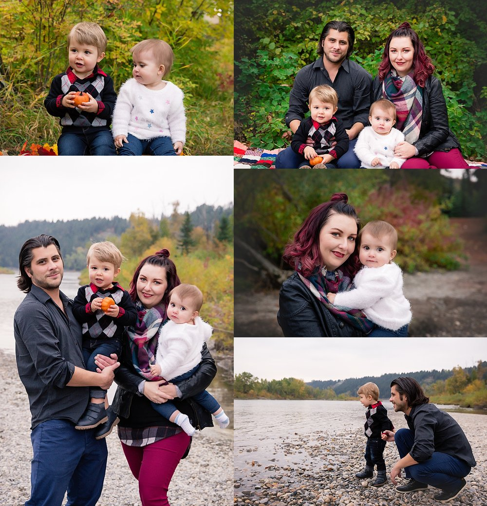 Calgary Fall Mini Session - Edworthy Park. Calgary Family Photographer - Milashka Photography