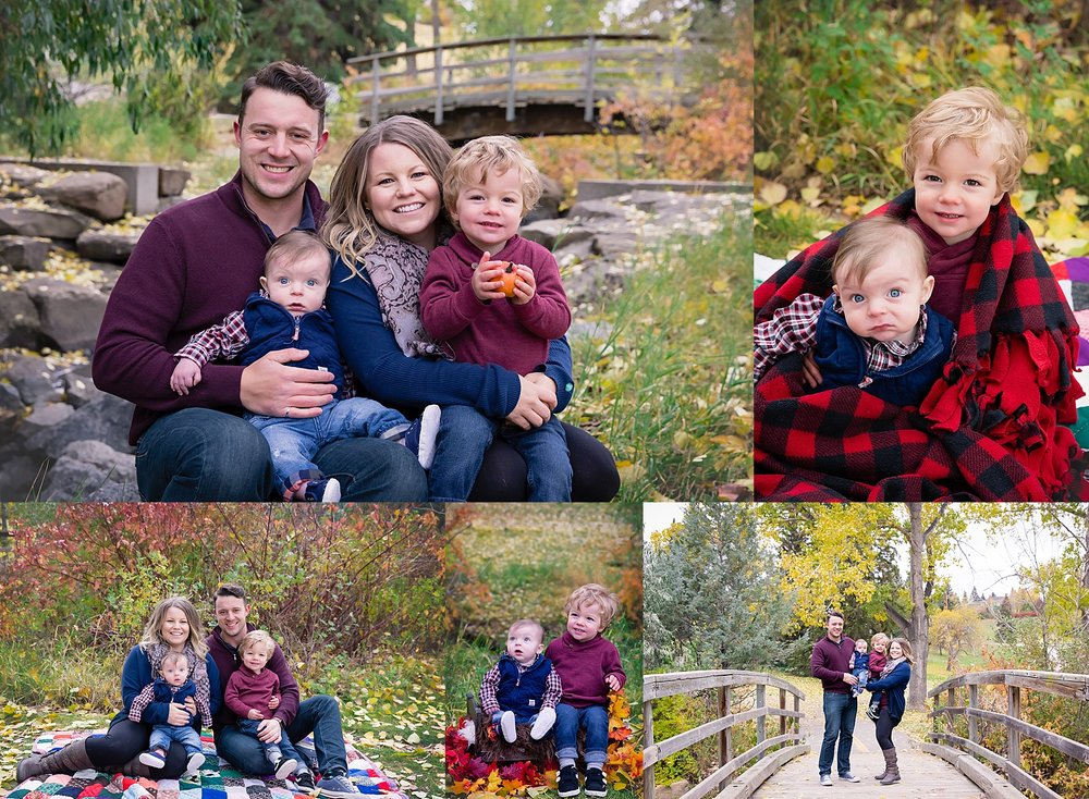 Calgary Fall Mini Session - Confederation Park. Calgary Family Photographer - Milashka Photography