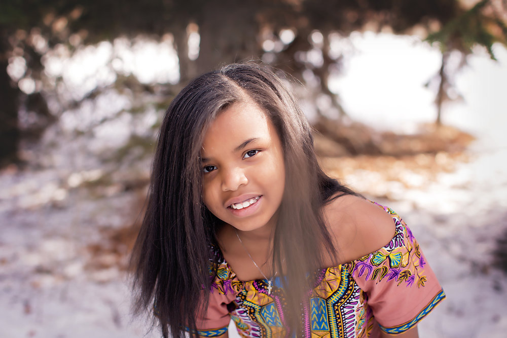 Portrait of a girl. Calgary Photographer - Milashka Photography