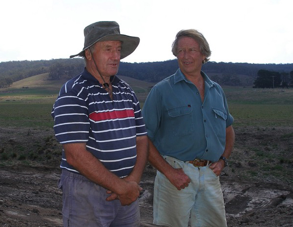 Peter Andrews OAM and Tony Coote AM in earlier times.