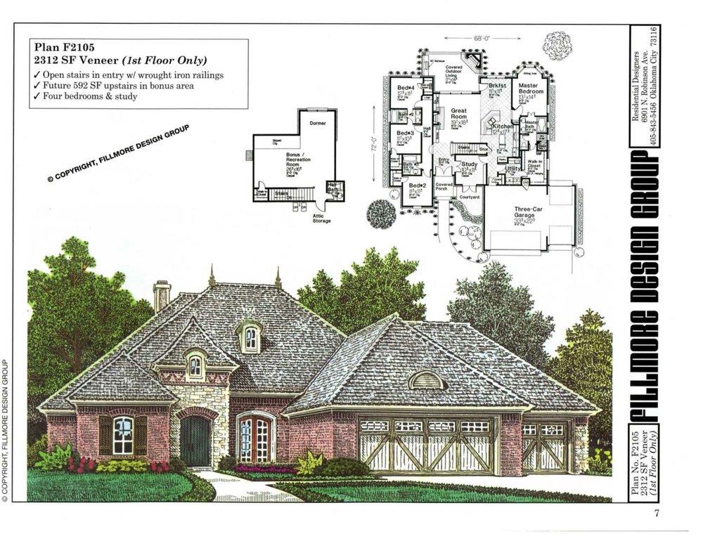 Fillmore House Plan Books House Plans