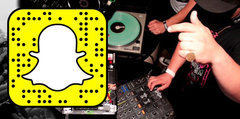 SCAN SNAP SQUARE TO ADD ME!  djmattcali