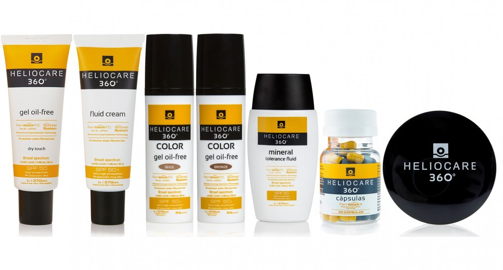 Nothing protects skin like Heliocare 360