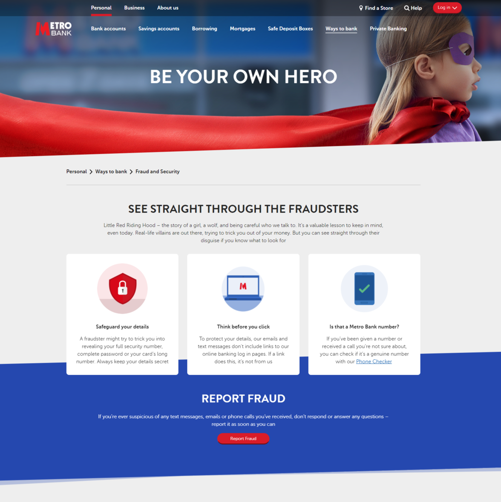 Metro Bank - Be your own hero.png