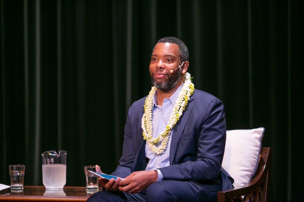 Ta-Nehisi Coates. Photo: Shuzo Uemoto