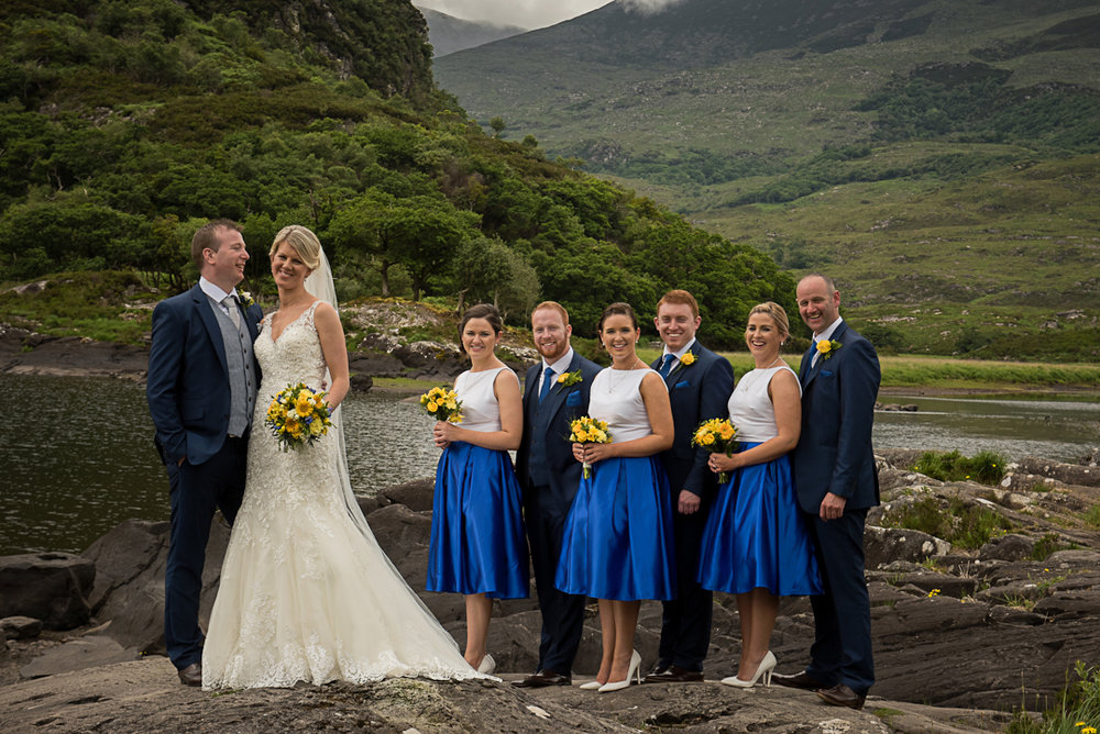 Dress Aibheil. Bridesmaids dress made by Sharon O Shea Tralee