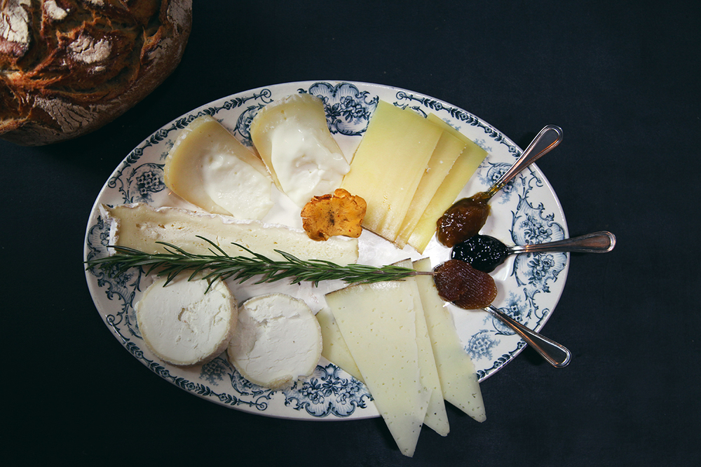 Assiette convivados fromage