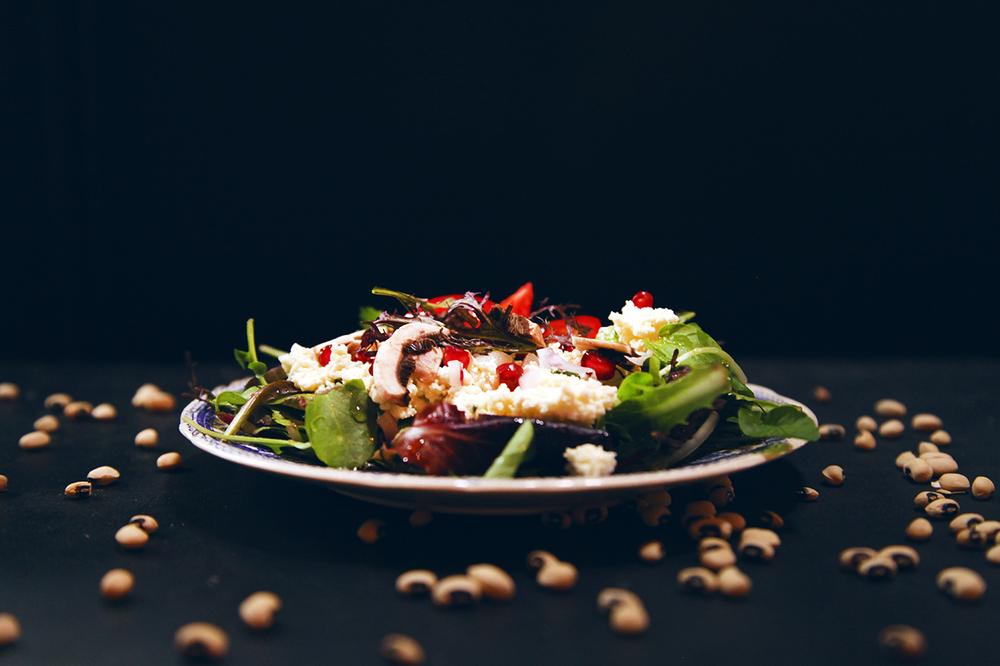 Salade de brousse et grenade