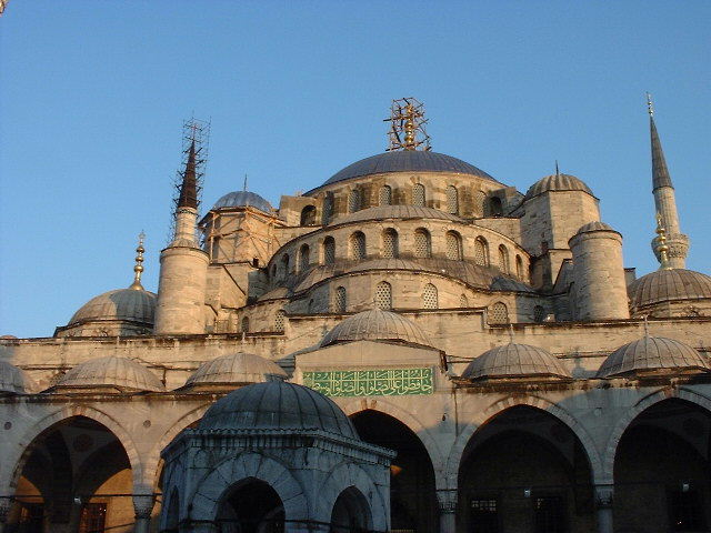 Sultan Ahmet Camii, AKA the Blue Mosque