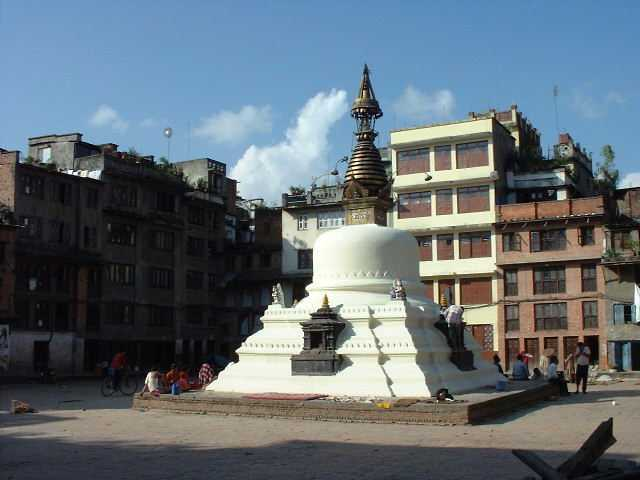 One of the hundreds of Kathmandu's temples.
