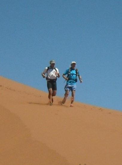 Ultra running desert race