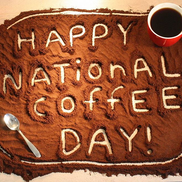 Happy National Coffee Day :) One of my favourite days, soooooo come down and buy a 250g bag of any of our coffees and get a FREE small coffee :) xx