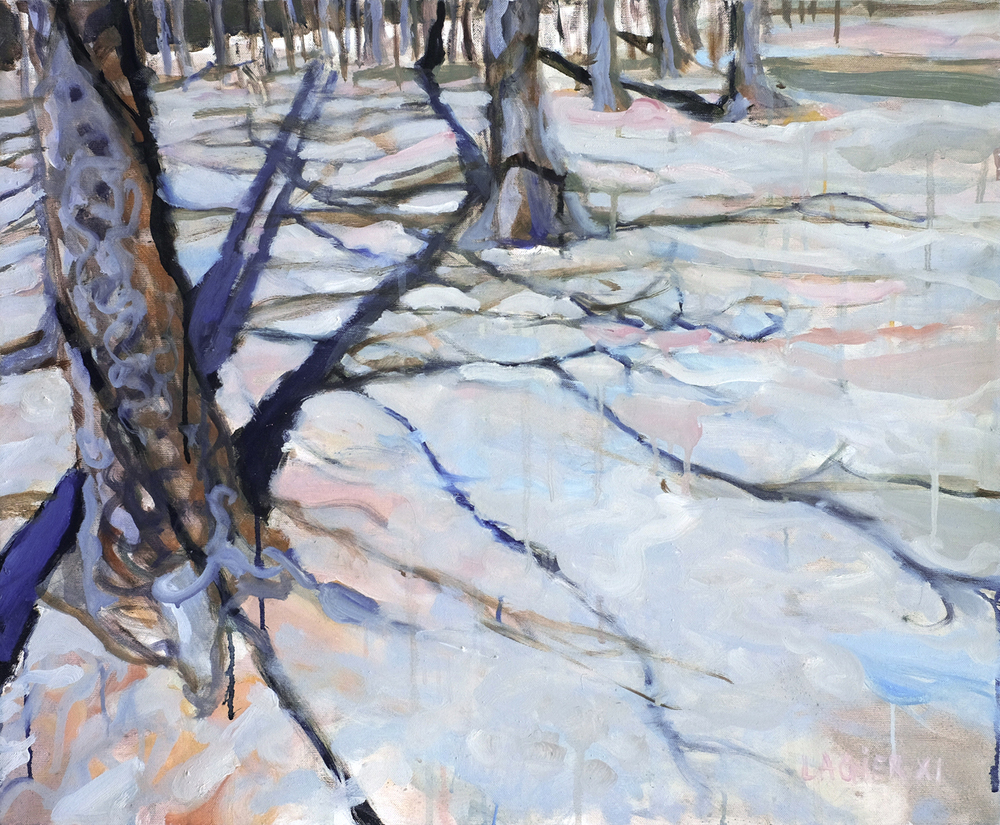 Forêt arachnide // Format 73 X 60 cm